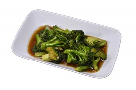 Brocolli with garlic in oyster sauce